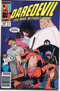 Cover for Daredevil (Marvel, 1964 series) #259 [Newsstand]