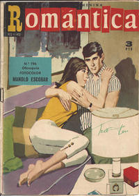 Cover Thumbnail for Romantica (Ibero Mundial de ediciones, 1961 series) #196
