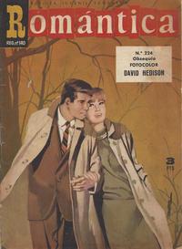 Cover Thumbnail for Romantica (Ibero Mundial de ediciones, 1961 series) #224