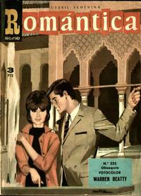 Cover Thumbnail for Romantica (Ibero Mundial de ediciones, 1961 series) #225