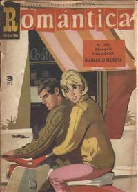Cover Thumbnail for Romantica (Ibero Mundial de ediciones, 1961 series) #244