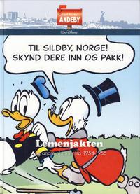 Cover Thumbnail for Carl Barks' Andeby (Hjemmet / Egmont, 2013 series) #[3] - Lemenjakten 1954-1955 og andre historier fra 1954-1955