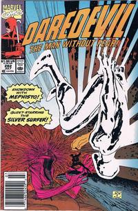 Cover Thumbnail for Daredevil (Marvel, 1964 series) #282 [Newsstand]