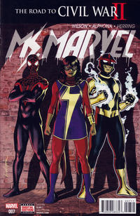 Cover Thumbnail for Ms. Marvel (Marvel, 2016 series) #7