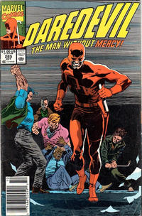 Cover Thumbnail for Daredevil (Marvel, 1964 series) #285 [Newsstand]