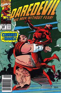 Cover Thumbnail for Daredevil (Marvel, 1964 series) #296 [Newsstand]