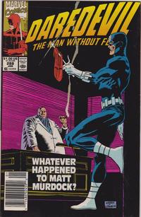 Cover Thumbnail for Daredevil (Marvel, 1964 series) #288 [Newsstand]