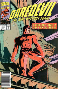 Cover Thumbnail for Daredevil (Marvel, 1964 series) #304 [Newsstand]