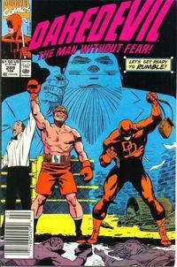 Cover Thumbnail for Daredevil (Marvel, 1964 series) #289 [Newsstand]