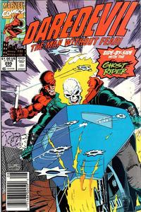 Cover Thumbnail for Daredevil (Marvel, 1964 series) #295 [Newsstand]