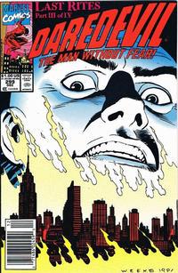 Cover Thumbnail for Daredevil (Marvel, 1964 series) #299 [Newsstand]