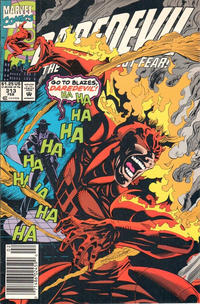 Cover for Daredevil (Marvel, 1964 series) #313 [Direct Edition]