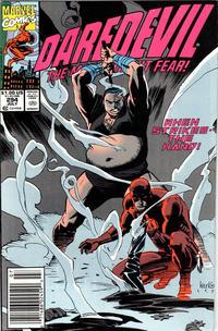 Cover Thumbnail for Daredevil (Marvel, 1964 series) #294 [Newsstand]