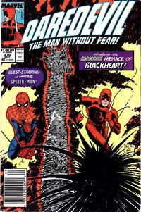 Cover Thumbnail for Daredevil (Marvel, 1964 series) #270 [Newsstand]