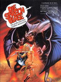 Cover Thumbnail for Die Sprechblase (Norbert Hethke Verlag, 1978 series) #52
