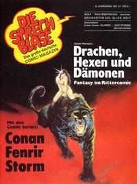 Cover Thumbnail for Die Sprechblase (Norbert Hethke Verlag, 1978 series) #51