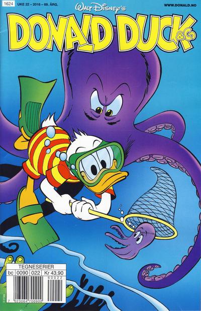 Cover for Donald Duck & Co (Hjemmet / Egmont, 1948 series) #22/2016