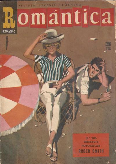 Cover for Romantica (Ibero Mundial de ediciones, 1961 series) #206