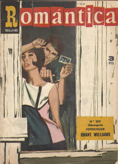 Cover for Romantica (Ibero Mundial de ediciones, 1961 series) #207