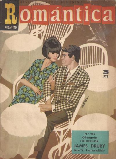 Cover for Romantica (Ibero Mundial de ediciones, 1961 series) #215
