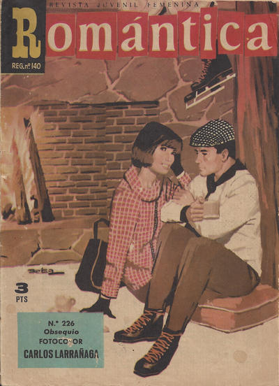 Cover for Romantica (Ibero Mundial de ediciones, 1961 series) #226