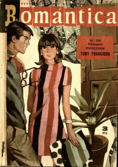 Cover for Romantica (Ibero Mundial de ediciones, 1961 series) #231