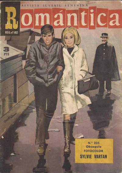 Cover for Romantica (Ibero Mundial de ediciones, 1961 series) #235