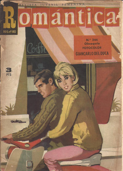 Cover for Romantica (Ibero Mundial de ediciones, 1961 series) #244