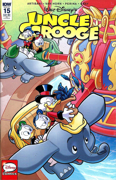 Cover for Uncle Scrooge (IDW, 2015 series) #15 / 419