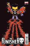 Cover for The Punisher (Marvel, 2016 series) #1 [Incentive Skottie Young Variant]