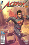 Cover for Action Comics (DC, 2011 series) #52 [The New 52! Variant]