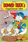 Cover for Donald Duck's Show (Hjemmet, 1957 series) #ferie 1985