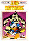 Cover for Zio Paperone (Disney Italia, 1990 series) #75