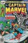 Cover Thumbnail for Captain Marvel (1968 series) #61 [British Price Variant]