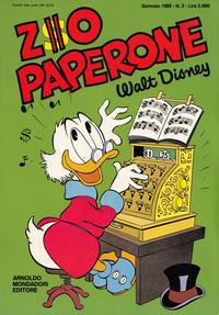 Cover Thumbnail for Zio Paperone (Arnoldo Mondadori Editore, 1987 series) #2