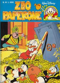 Cover Thumbnail for Zio Paperone (The Walt Disney Company Italia, 1990 series) #44