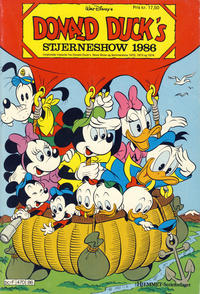 Cover Thumbnail for Donald Ducks Show (Hjemmet / Egmont, 1957 series) #[53] - Stjerneshow 1986