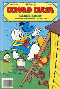 Cover Thumbnail for Donald Ducks Show (Hjemmet / Egmont, 1957 series) #[82] - Glade show 1994