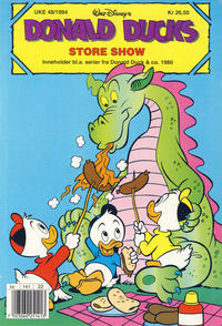 Cover Thumbnail for Donald Duck's Show (Hjemmet, 1957 series) #[85] - Store show 1994