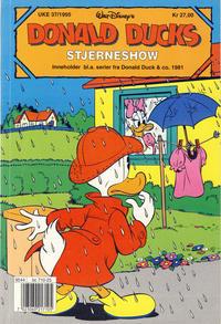 Cover Thumbnail for Donald Ducks Show (Hjemmet / Egmont, 1957 series) #[88] - Stjerneshow 1995