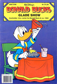 Cover Thumbnail for Donald Ducks Show (Hjemmet / Egmont, 1957 series) #[90] - Glade show 1996