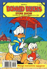 Cover Thumbnail for Donald Ducks Show (Hjemmet / Egmont, 1957 series) #[107] - Store show 2001 [Reutsendelse]