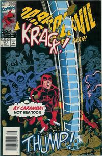 Cover Thumbnail for Daredevil (Marvel, 1964 series) #317 [Newsstand]