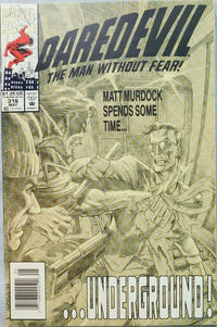 Cover Thumbnail for Daredevil (Marvel, 1964 series) #316 [Newsstand]