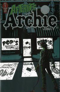 """Cover Thumbnail for Afterlife with Archie (Archie, 2013 series) #1 [New York Comic Con """"Bloody Pop's"""" Variant]"""