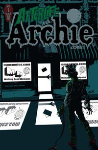 Cover Thumbnail for Afterlife with Archie (Archie, 2013 series) #1 [M&M Comic Service Store Variant]