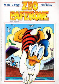 Cover Thumbnail for Zio Paperone (The Walt Disney Company Italia, 1990 series) #130
