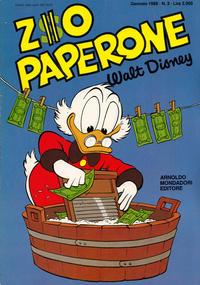 Cover Thumbnail for Zio Paperone (Arnoldo Mondadori Editore, 1987 series) #3