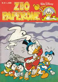 Cover Thumbnail for Zio Paperone (Disney Italia, 1990 series) #22