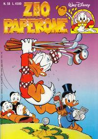 Cover Thumbnail for Zio Paperone (Disney Italia, 1990 series) #58